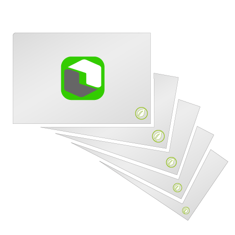 Visitenkarten | Recyclingpapier | beidseitig