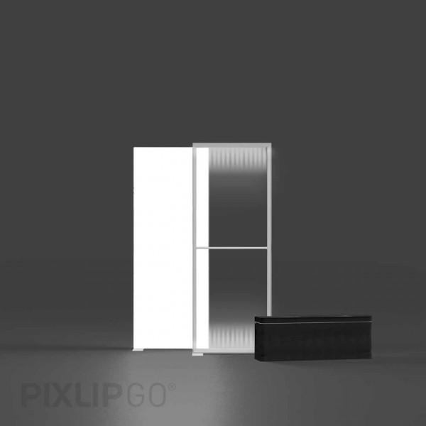 PIXLIP GO   Lightbox 85 cm x 200 cm indoor   beidseitig